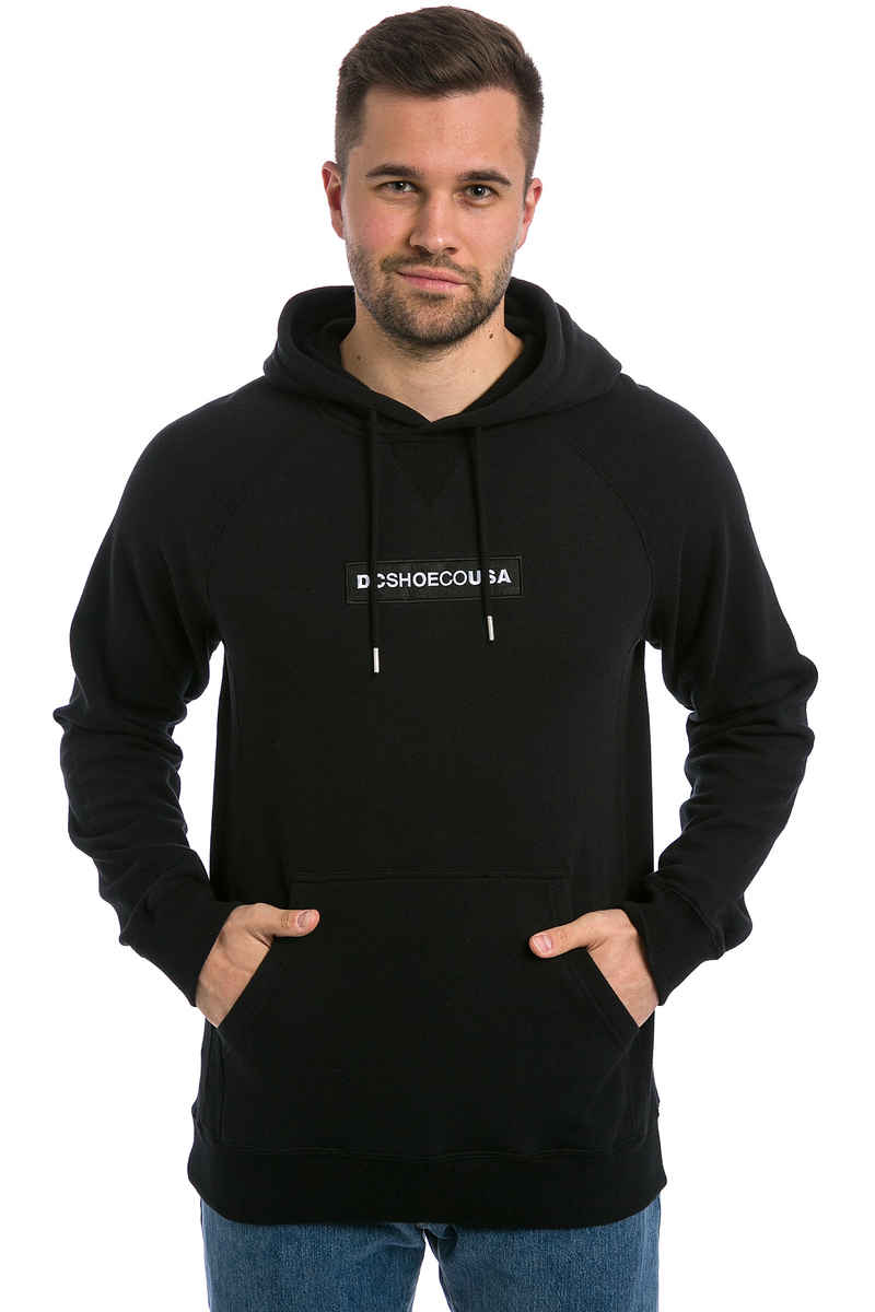 DC Embroidered Sudadera (black)