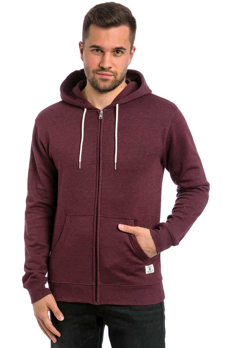 DC Rebel Zip-Sweatshirt avec capuchon (port royale)