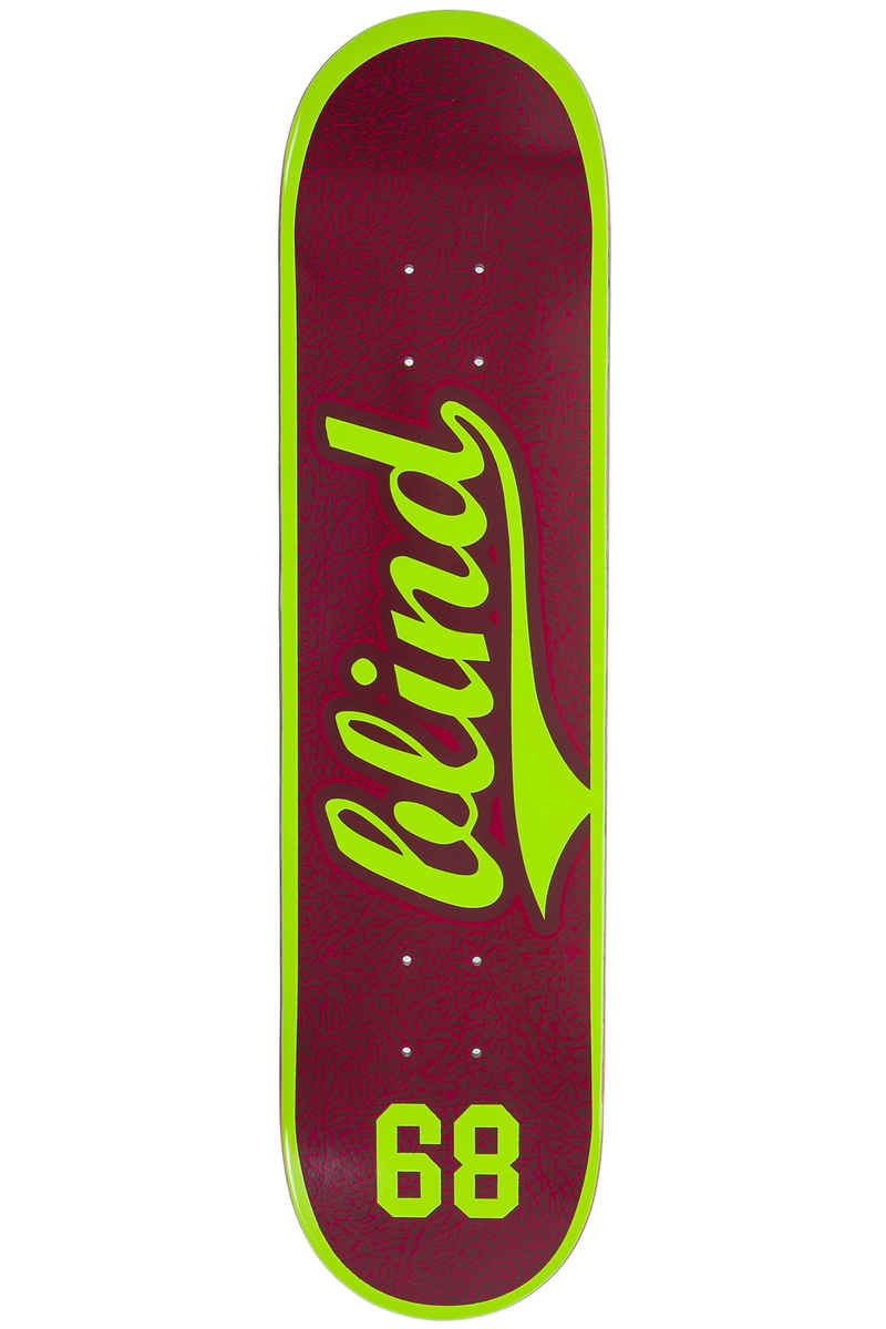 "Blind Team Athletic Skin 7.75"" Deck (plum)"