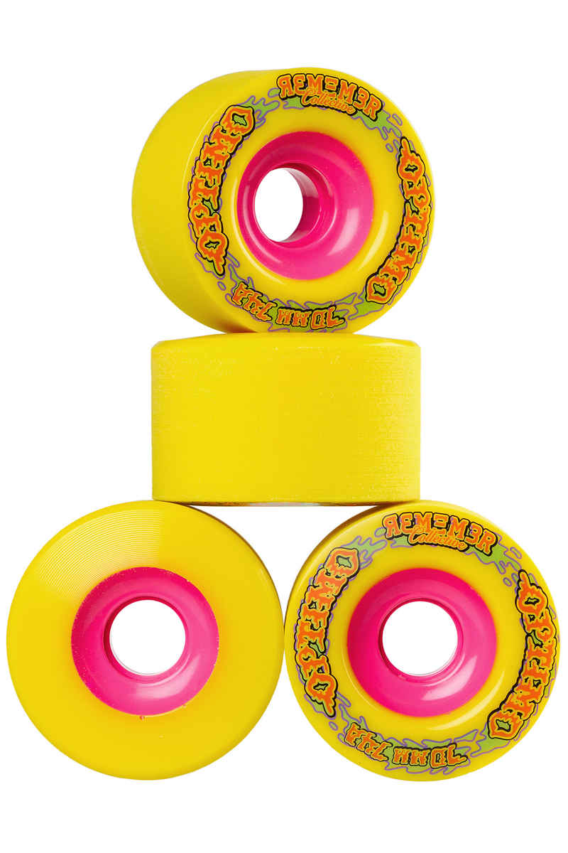 Remember Optimo Rollen (yellow) 4er Pack 70mm 74A