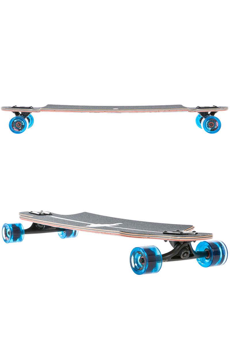 """Landyachtz Maple Drop Hammer 36.5"""" (93cm) Longboard-completo (blue jay)"""