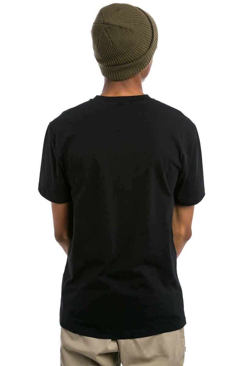 Cleptomanicx Floral Box T-Shirt (black)