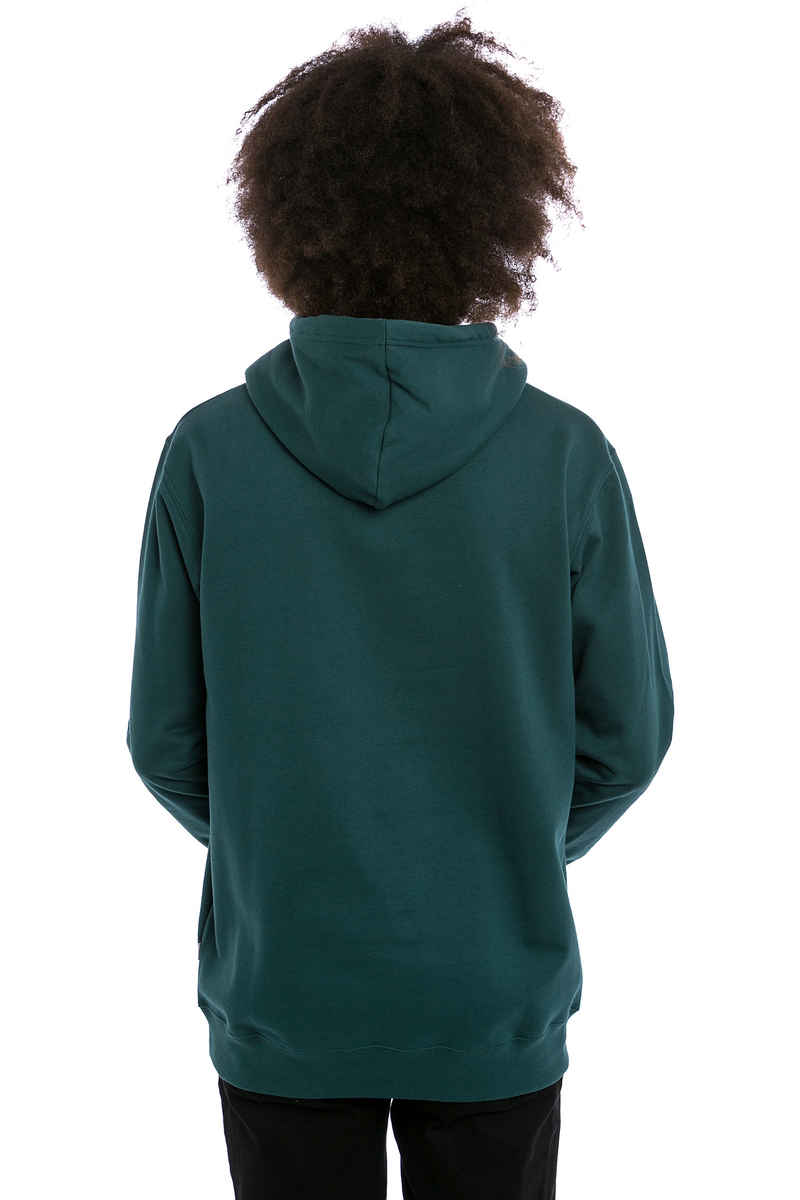 Cleptomanicx Gull 2 Hoodie (dark sea green)