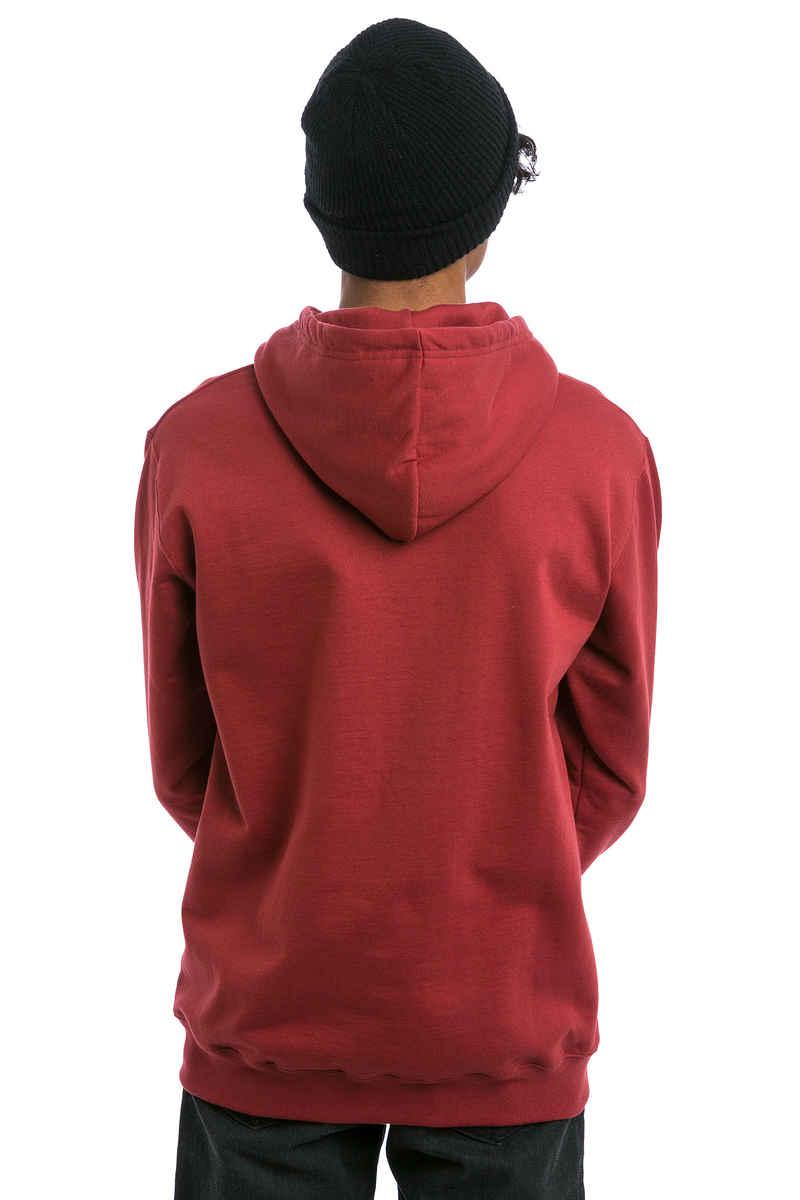 Cleptomanicx Möwe Hoodie (merlot red)