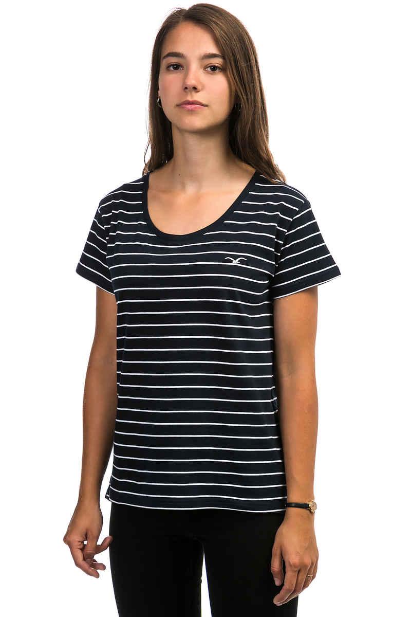 Cleptomanicx Harbour T-Shirt women (dark navy)