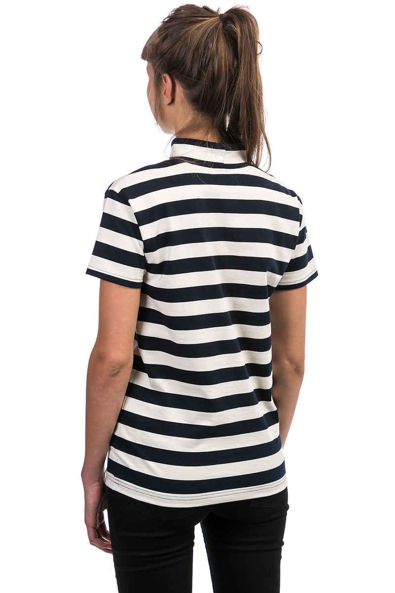 Cleptomanicx Wave T-Shirt women (dark navy)