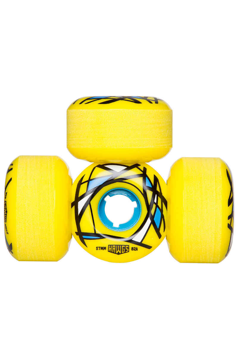 Hawgs Cordova 57mm 82A Roue (yellow) 4 Pack
