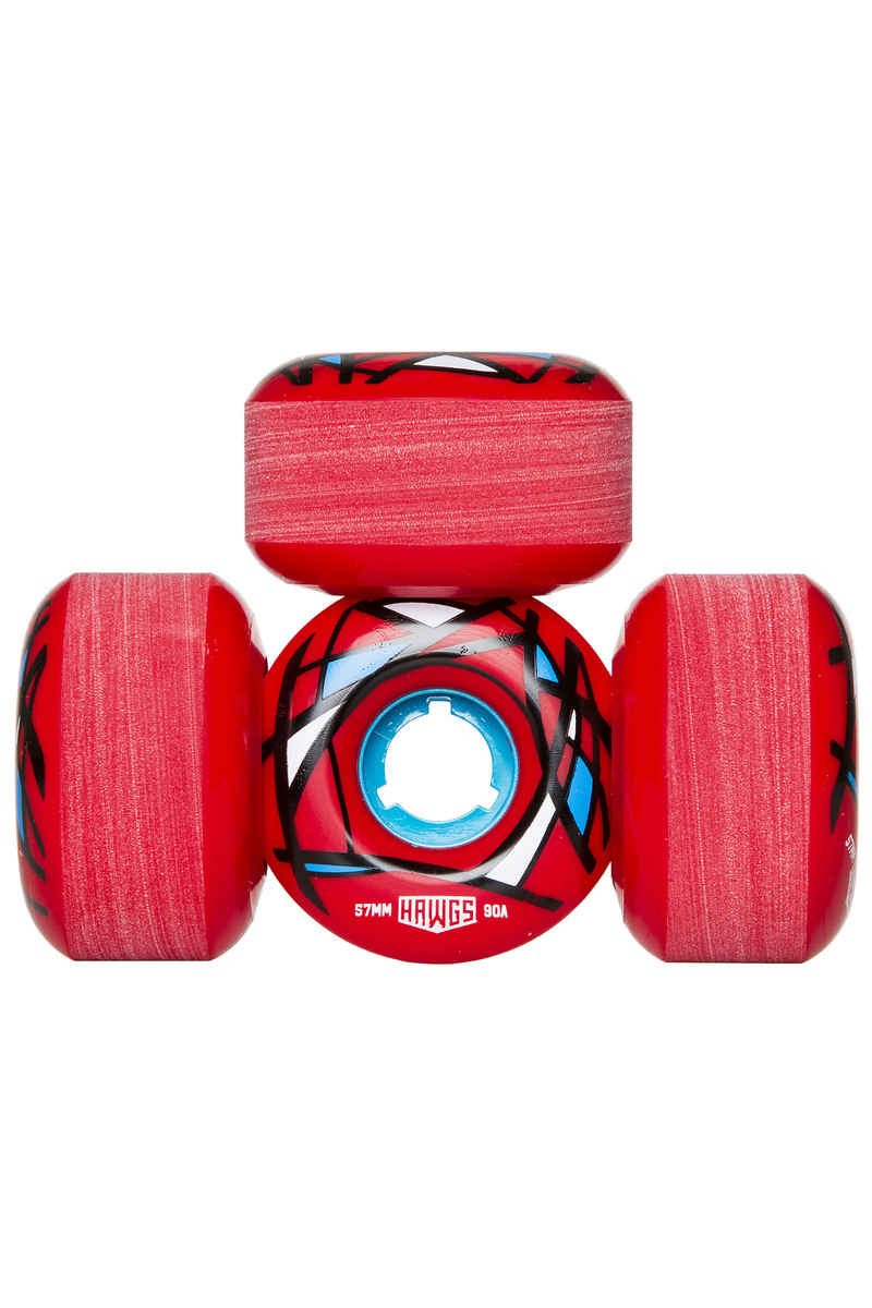 Hawgs Cordova Roue (red) 57mm 4 Pack 90A