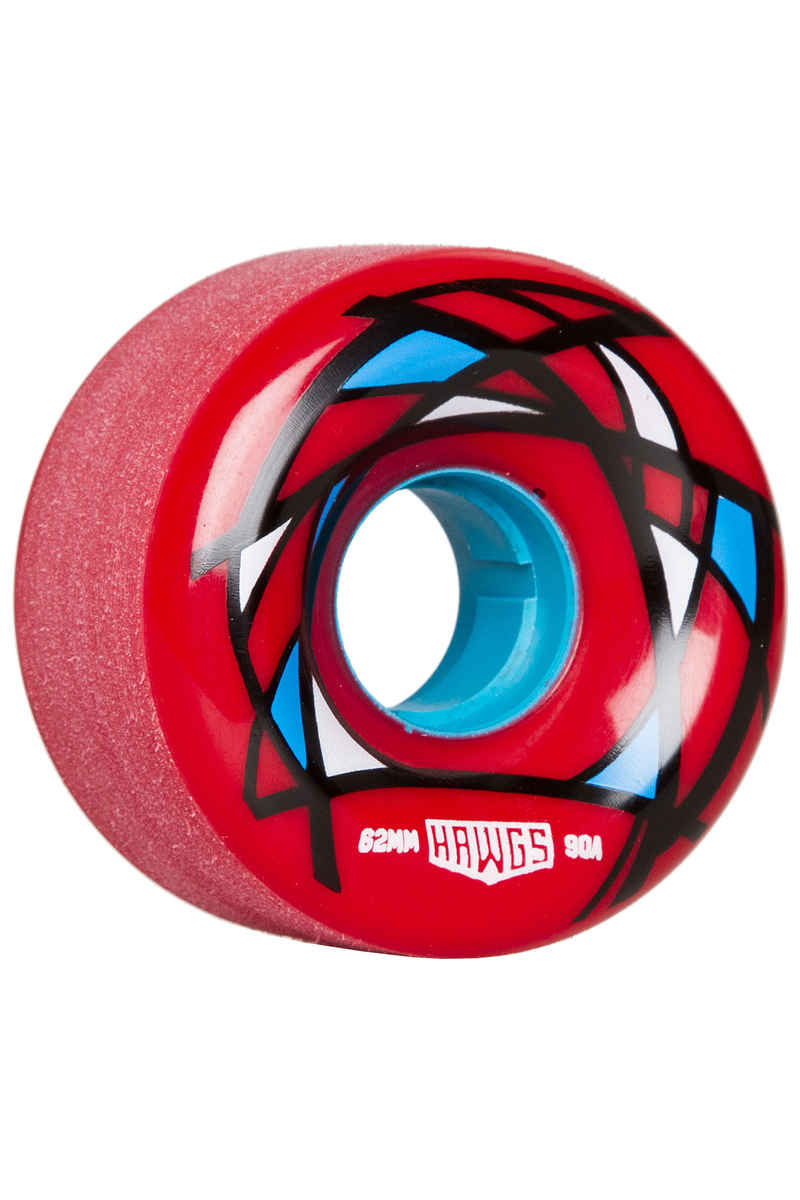 Hawgs Venable 62mm 90A Rollen (red) 4er Pack