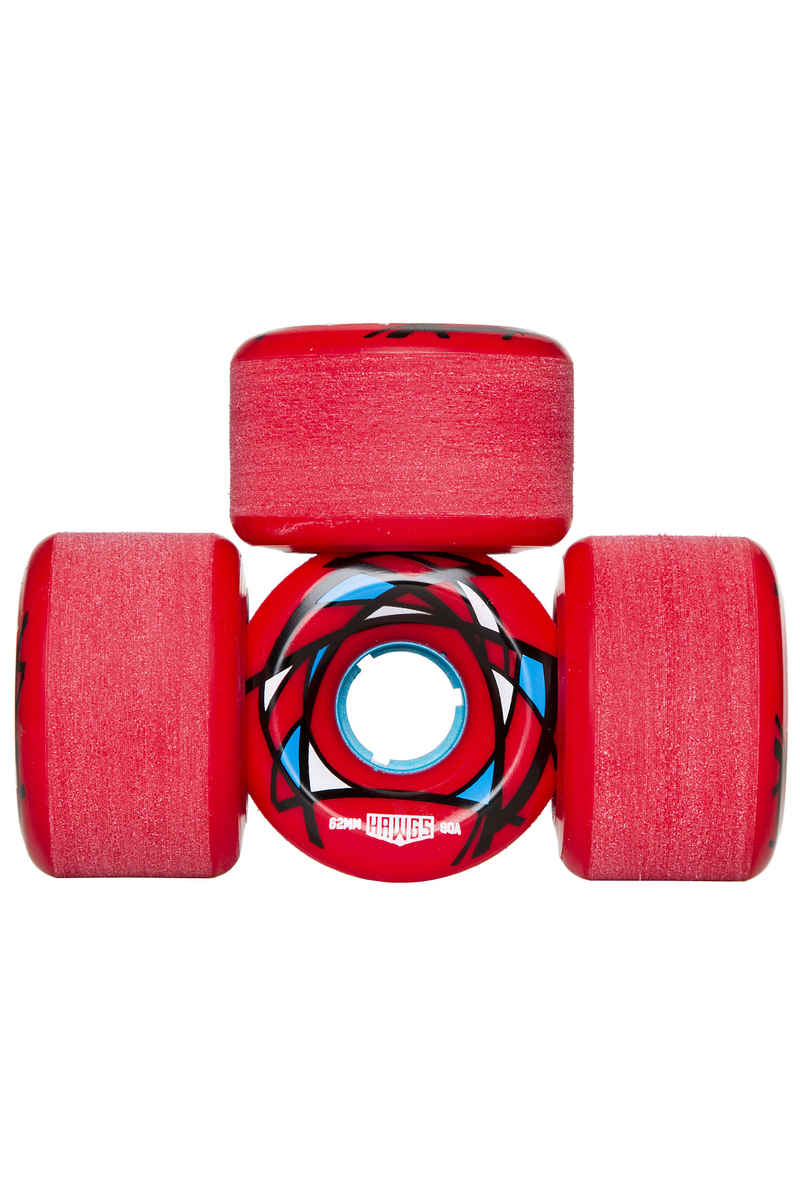 Hawgs Venable Wheels (red) 62mm 90A 4 Pack