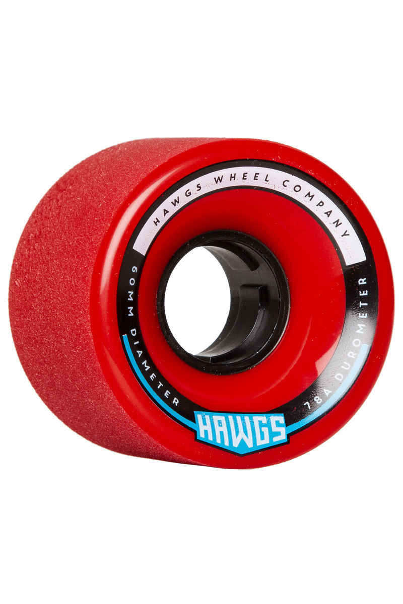 Hawgs Chubby 60mm 78A Wheels (red) 4 Pack