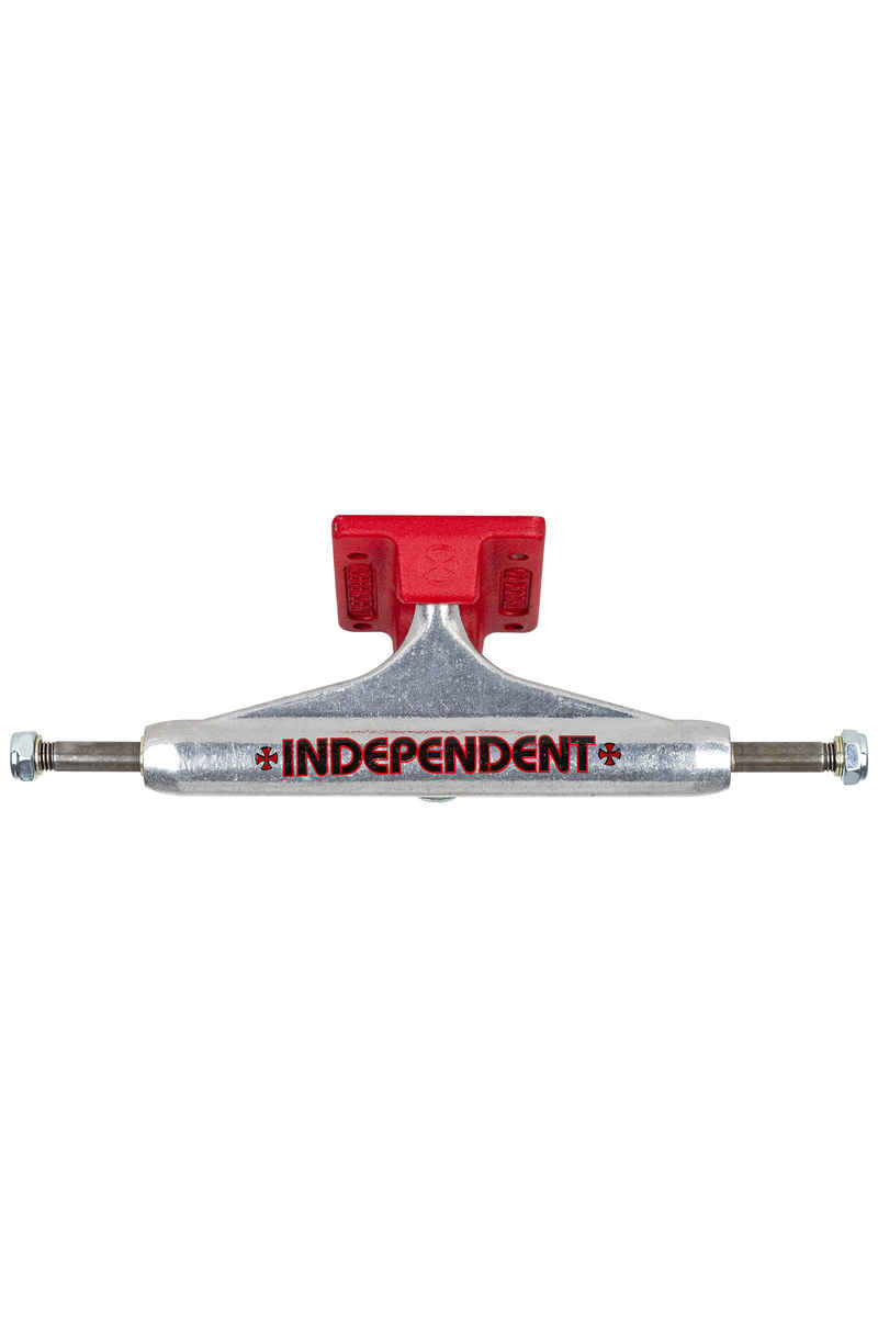Independent 139 Stage 11 Standard Bar Cross Truck (silver red)