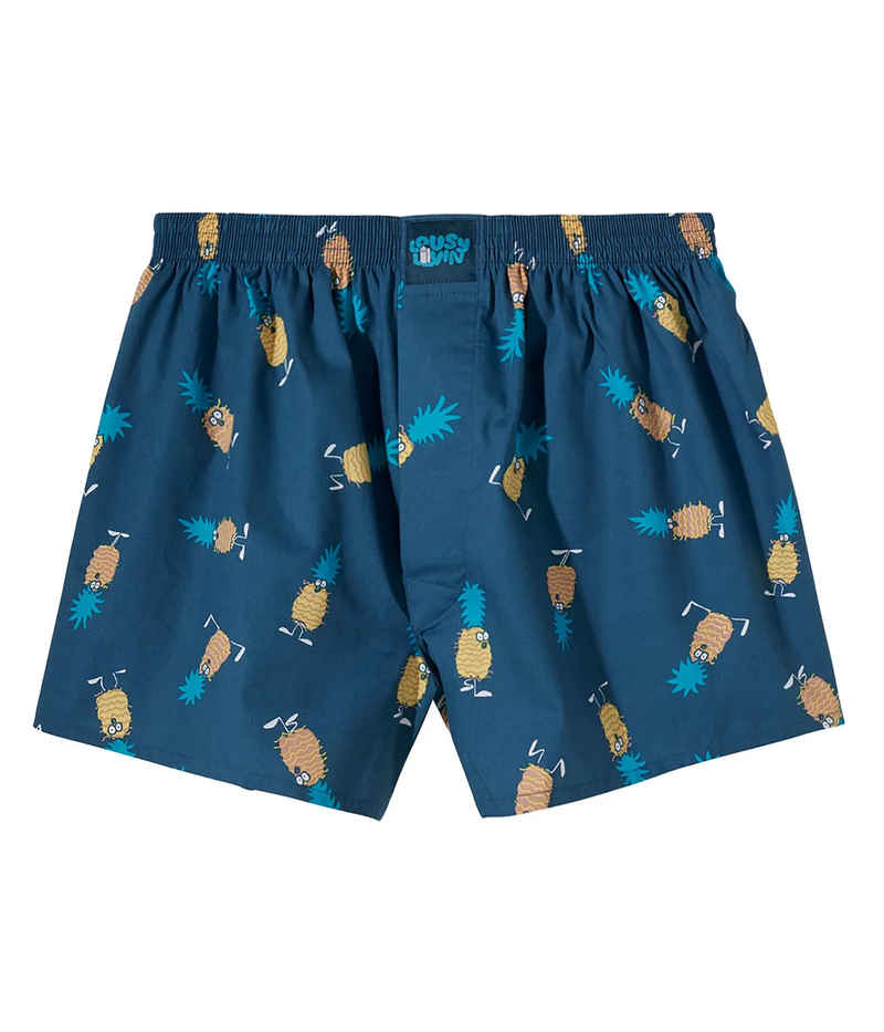 Lousy Livin Underwear Ananas Boxershorts (blue dive)