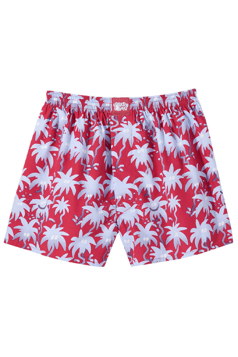 Lousy Livin Underwear Palms Boxershorts (red)