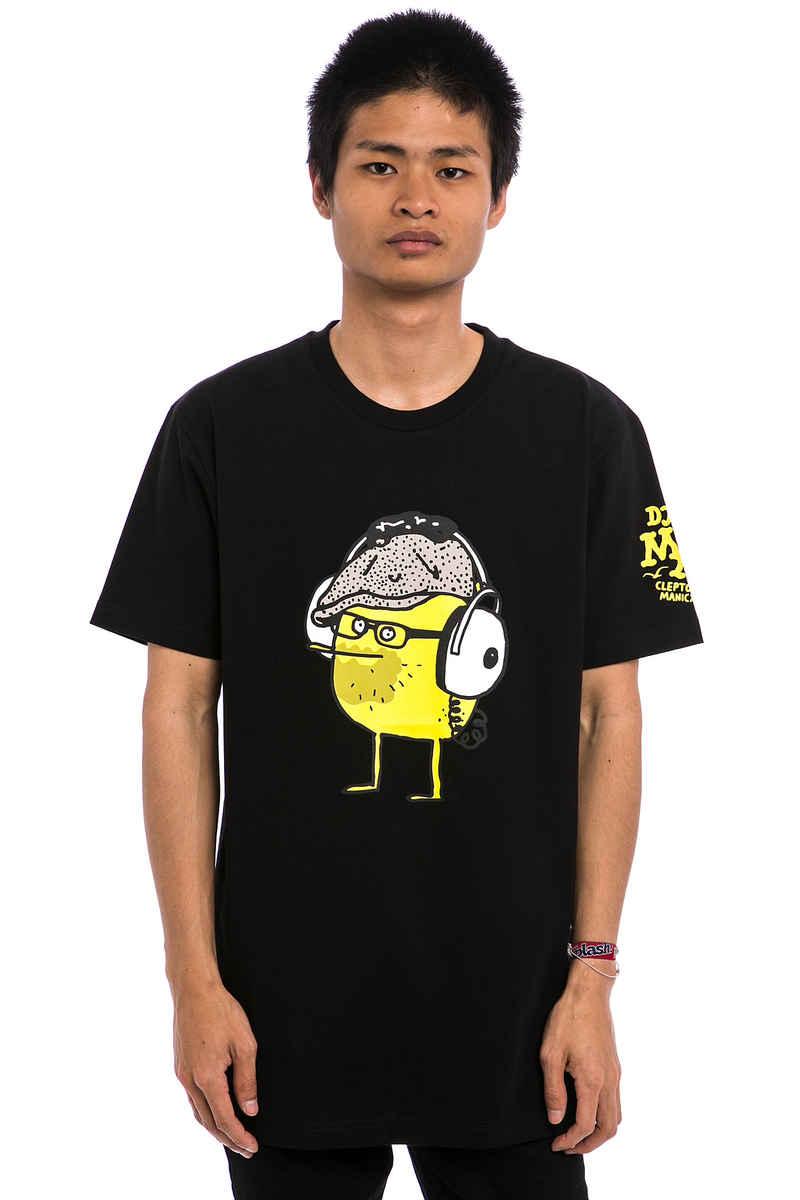 Cleptomanicx DJ Mad Zitrone 2 T-Shirt (black)