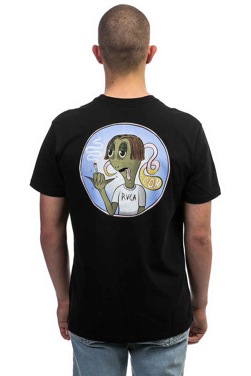 RVCA x Toy Machine Turtle T-Shirt (black)