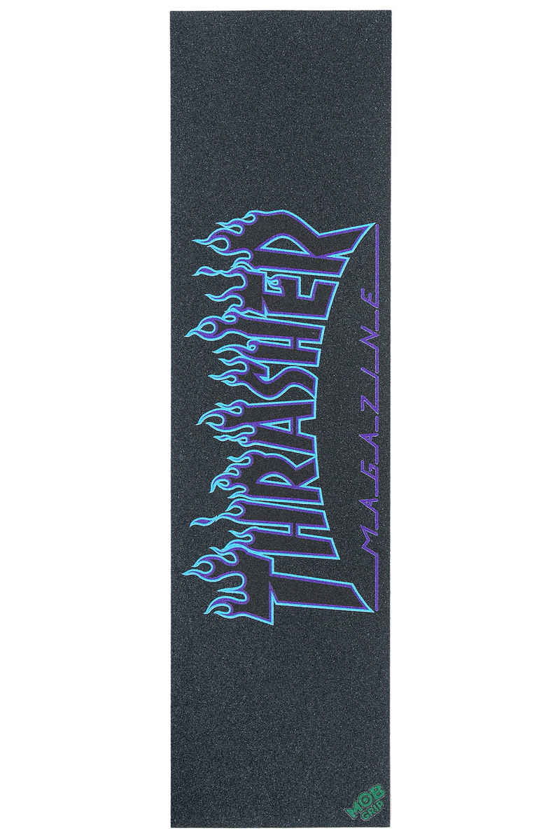 MOB x Thrasher Flame Grip Skate (blue)
