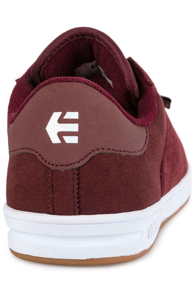 Etnies The Scam Schuh (burgundy white)