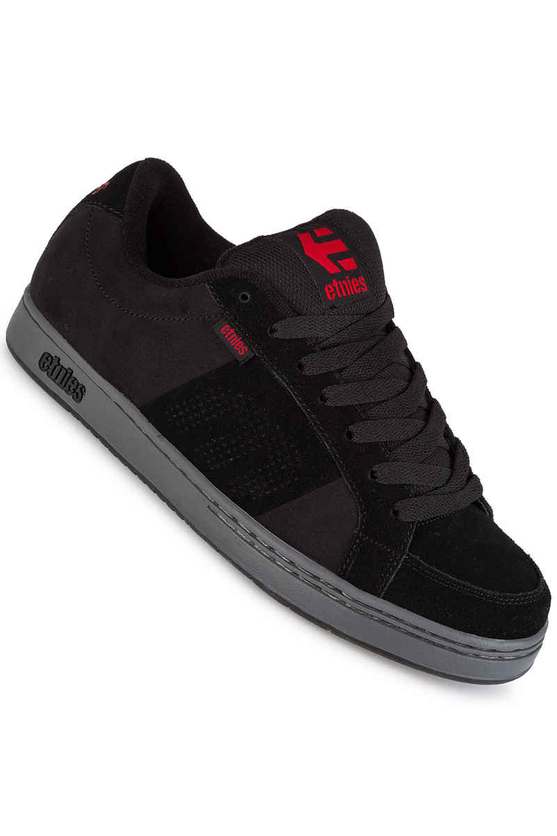 Etnies Kingpin Schuh (black charcoal red)