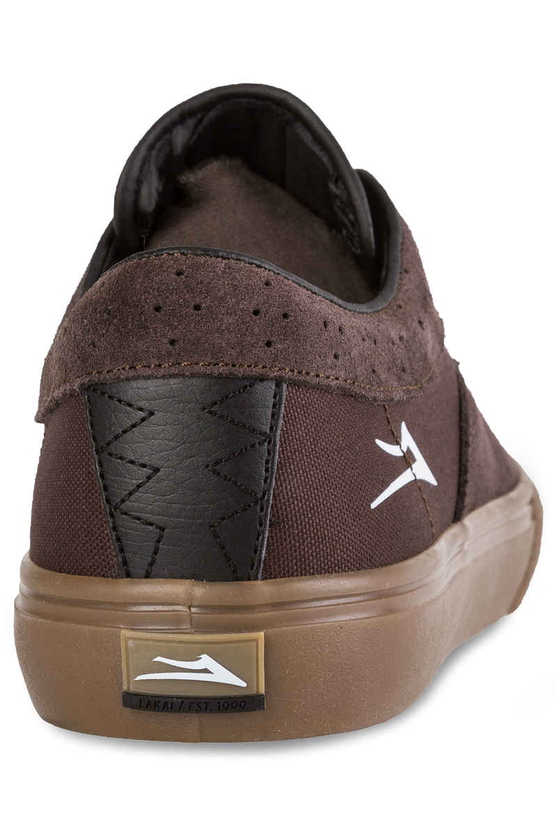 Lakai Riley Hawk Suede Shoes (chocolate)
