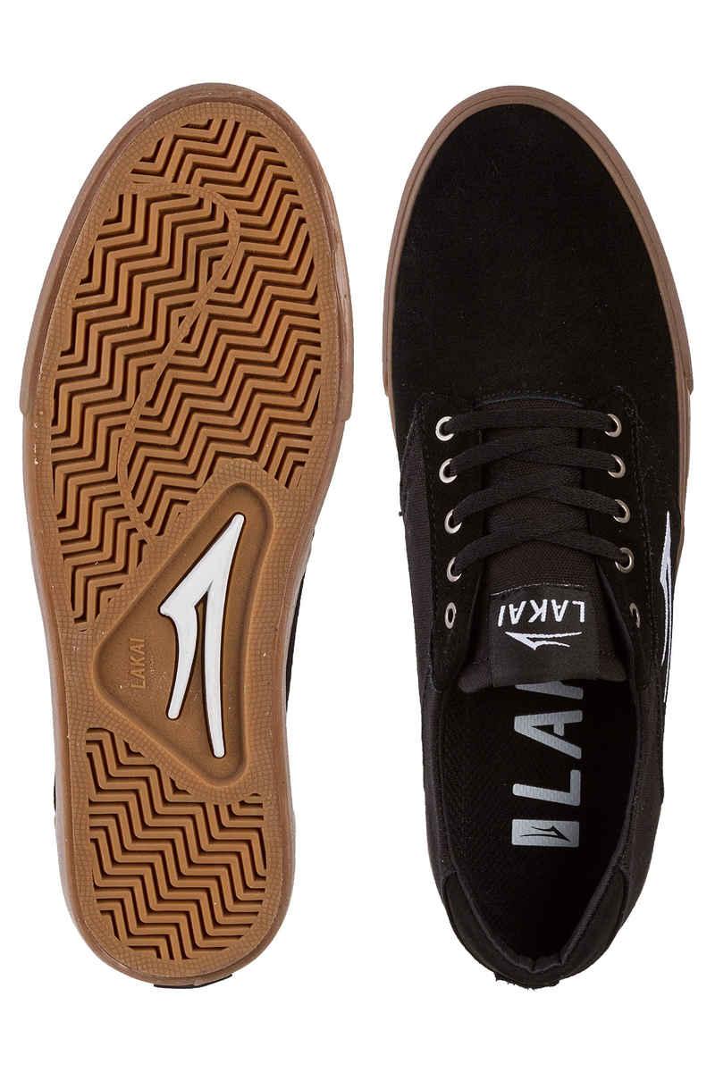 Lakai Porter Suede Chaussure (black gum)
