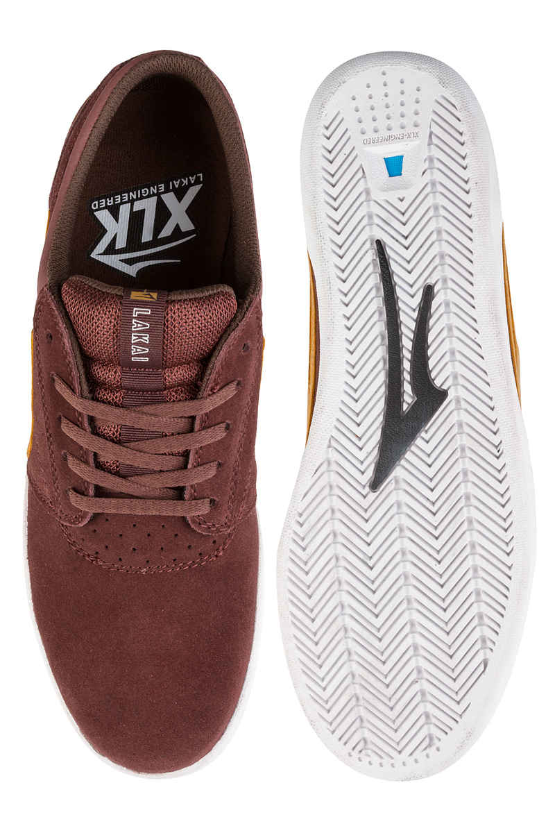 Lakai Griffin XLK Suede Chaussure  (brick)