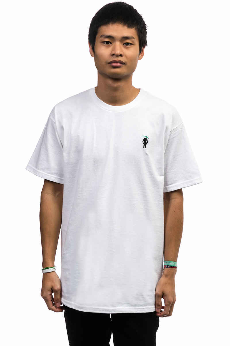 Lakai x Girl EMB T-Shirt (white)