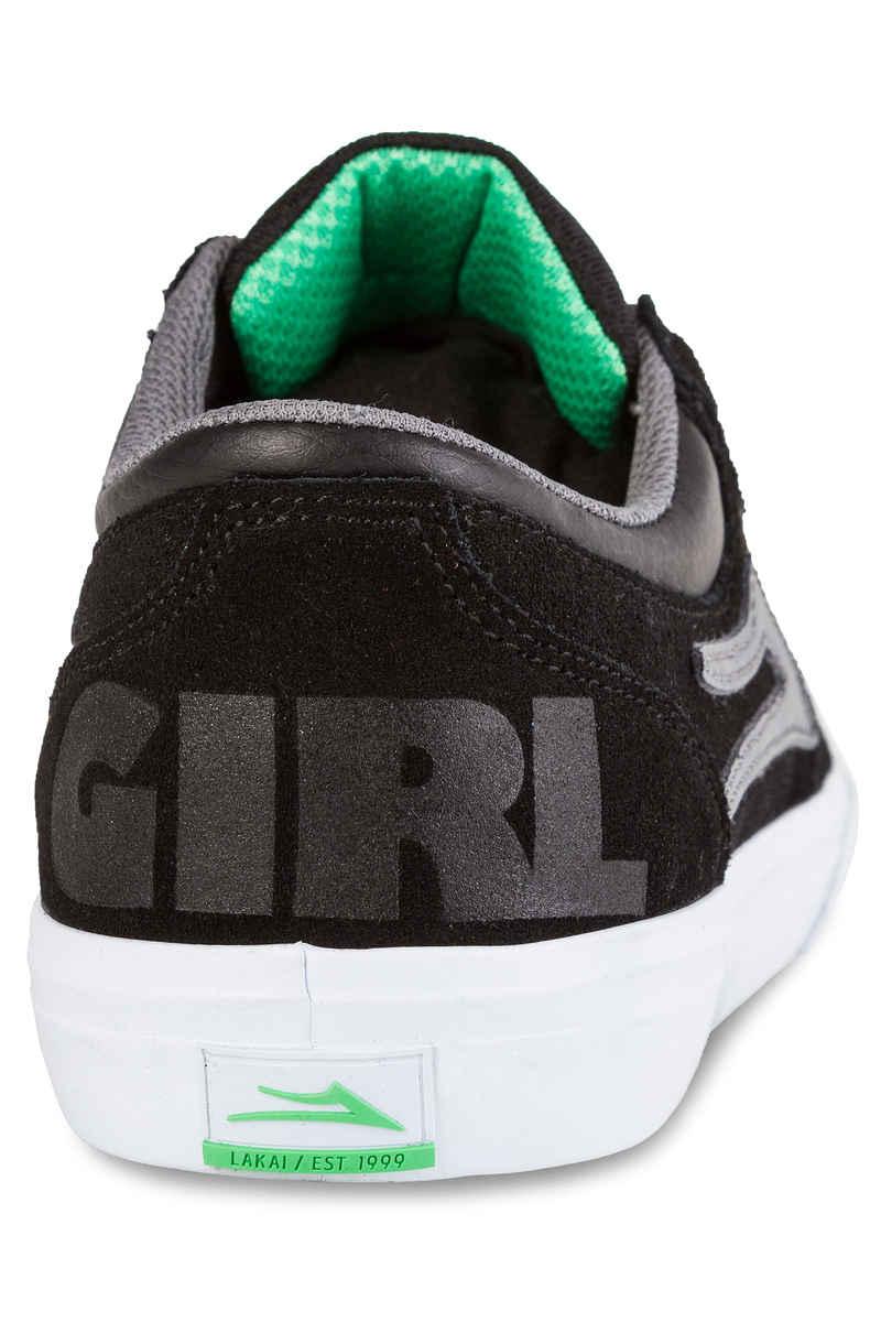 Lakai x Girl Griffin Suede Chaussure (black grey)