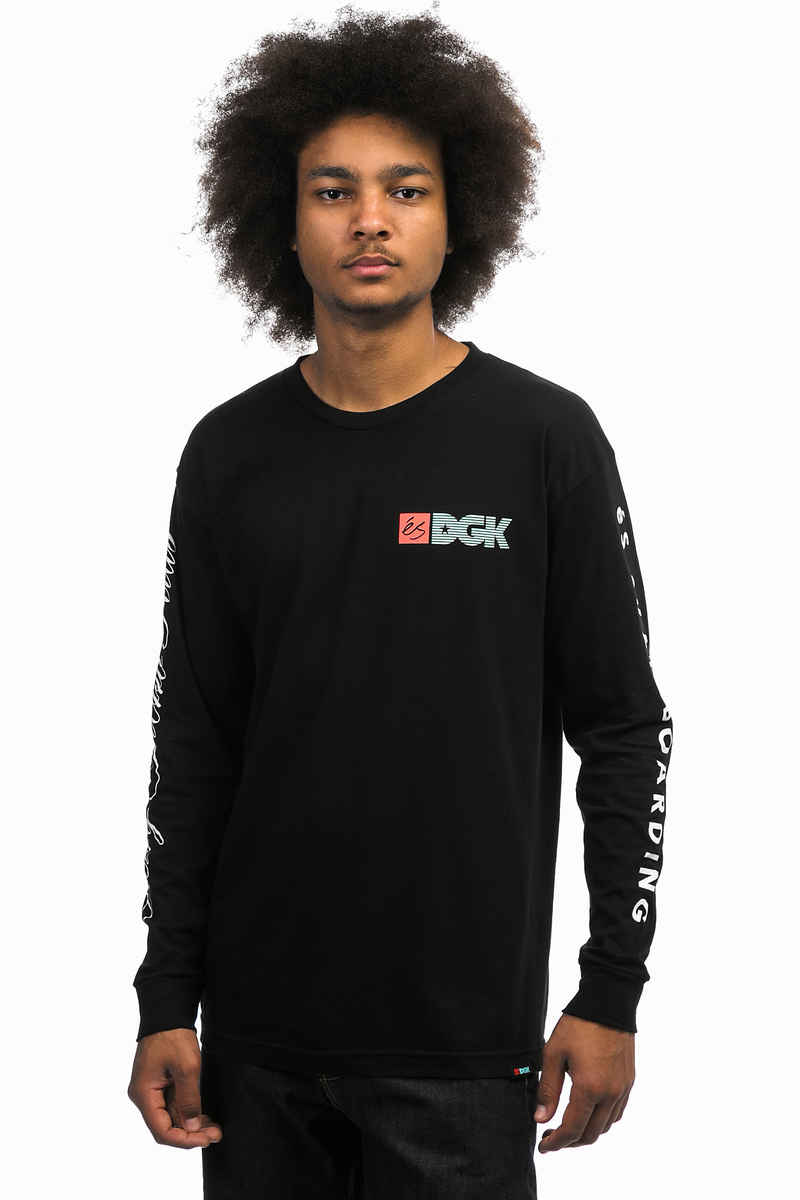 éS x DGK Skateboards Collab Longsleeve (black)