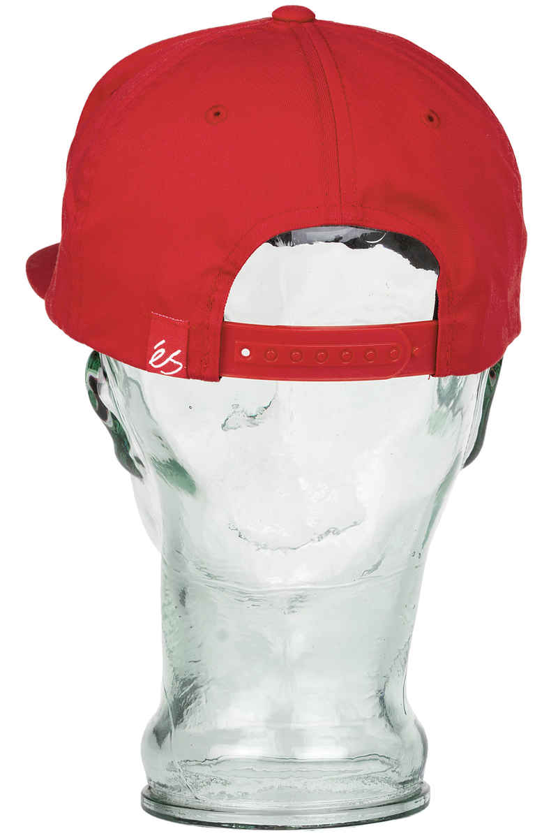 éS Script Snapback Cap (red)