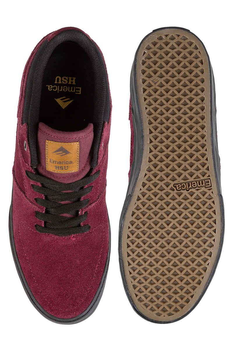 Emerica The HSU Low Vulc Shoes  (burgundy)