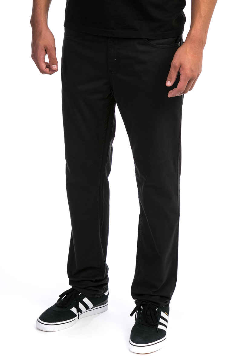 However, the black twill is a heavier weight than the navy. For my purposes the light weight of the navy is what I wanted. The black twill that I received is more suitable to making a pair of pants.