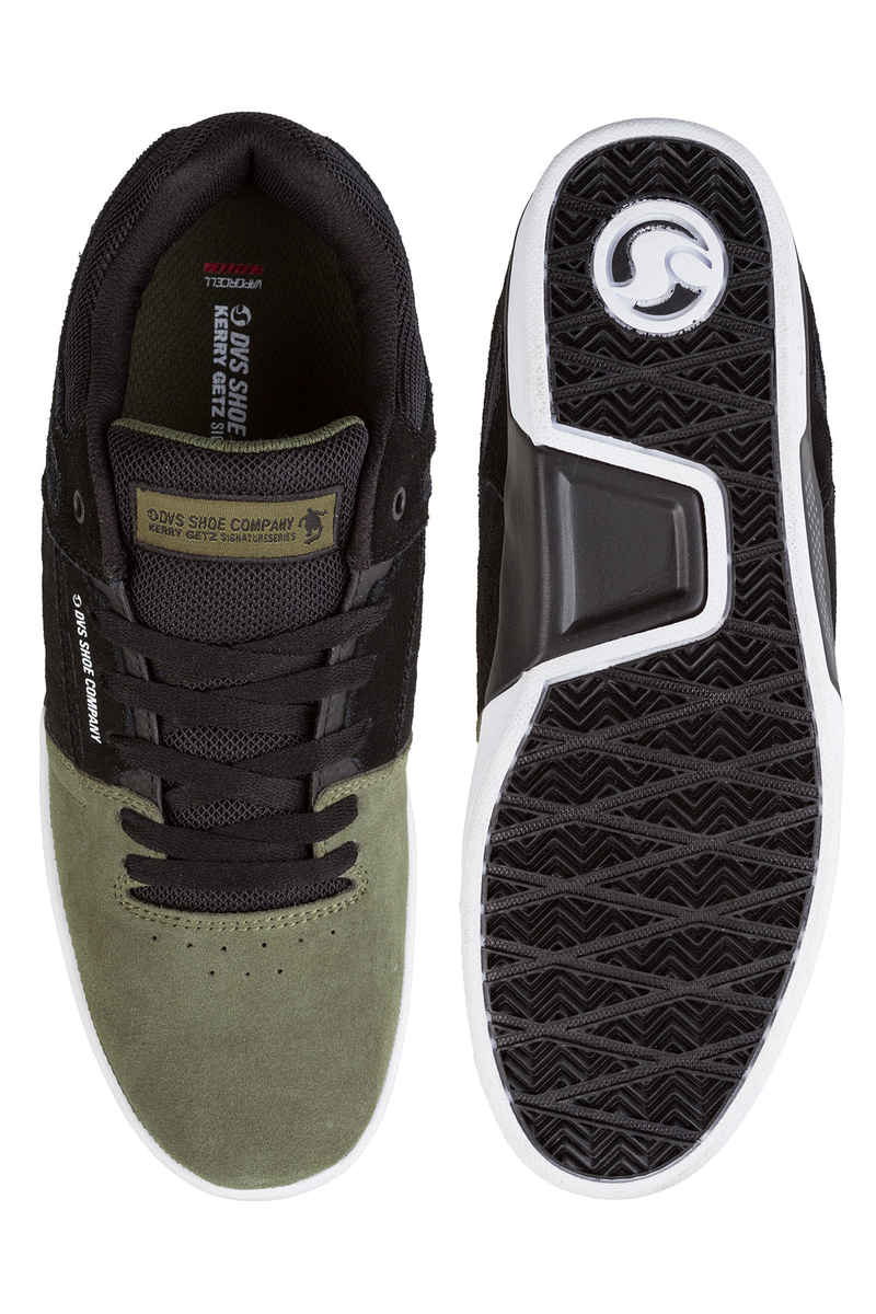 DVS Getz Suede Shoes (olive black)
