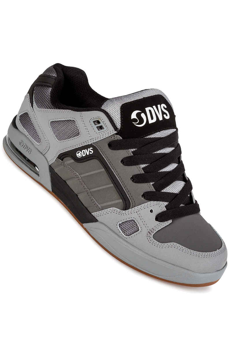 DVS Drone Leather Shoes (charcoal grey)