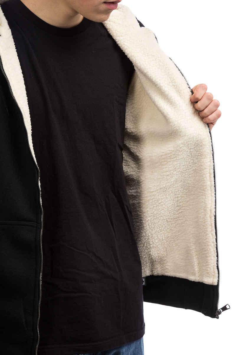 Dickies Sherpa Lined Fleece Zip-Hoodie (black)