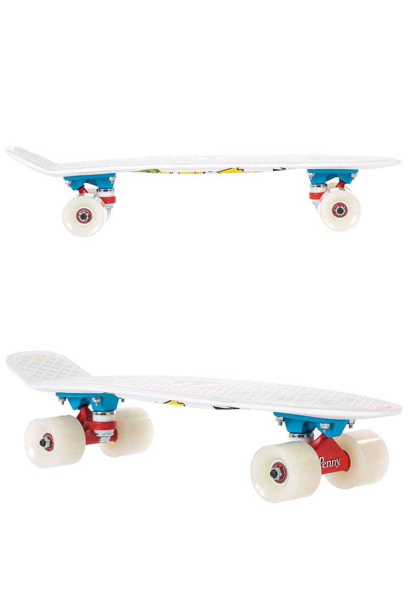 "Penny x The Simpsons El Barto 22"" Cruiser (white)"