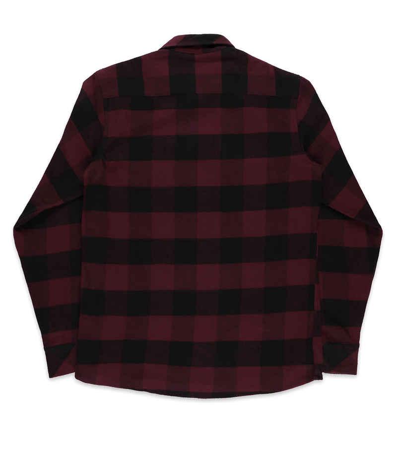 Dickies Sacramento Shirts en Flanelle (maroon)