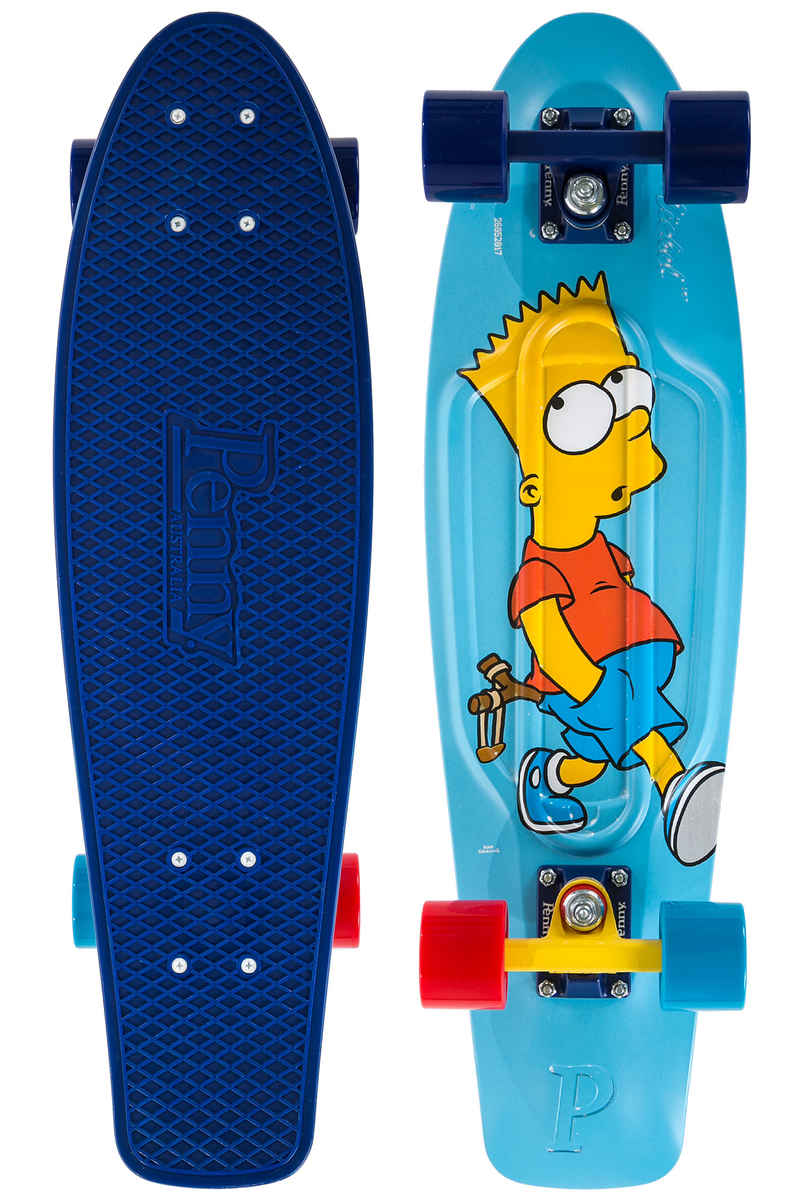 """Penny x The Simpsons Bart 27"""" Cruiser (blue)"""