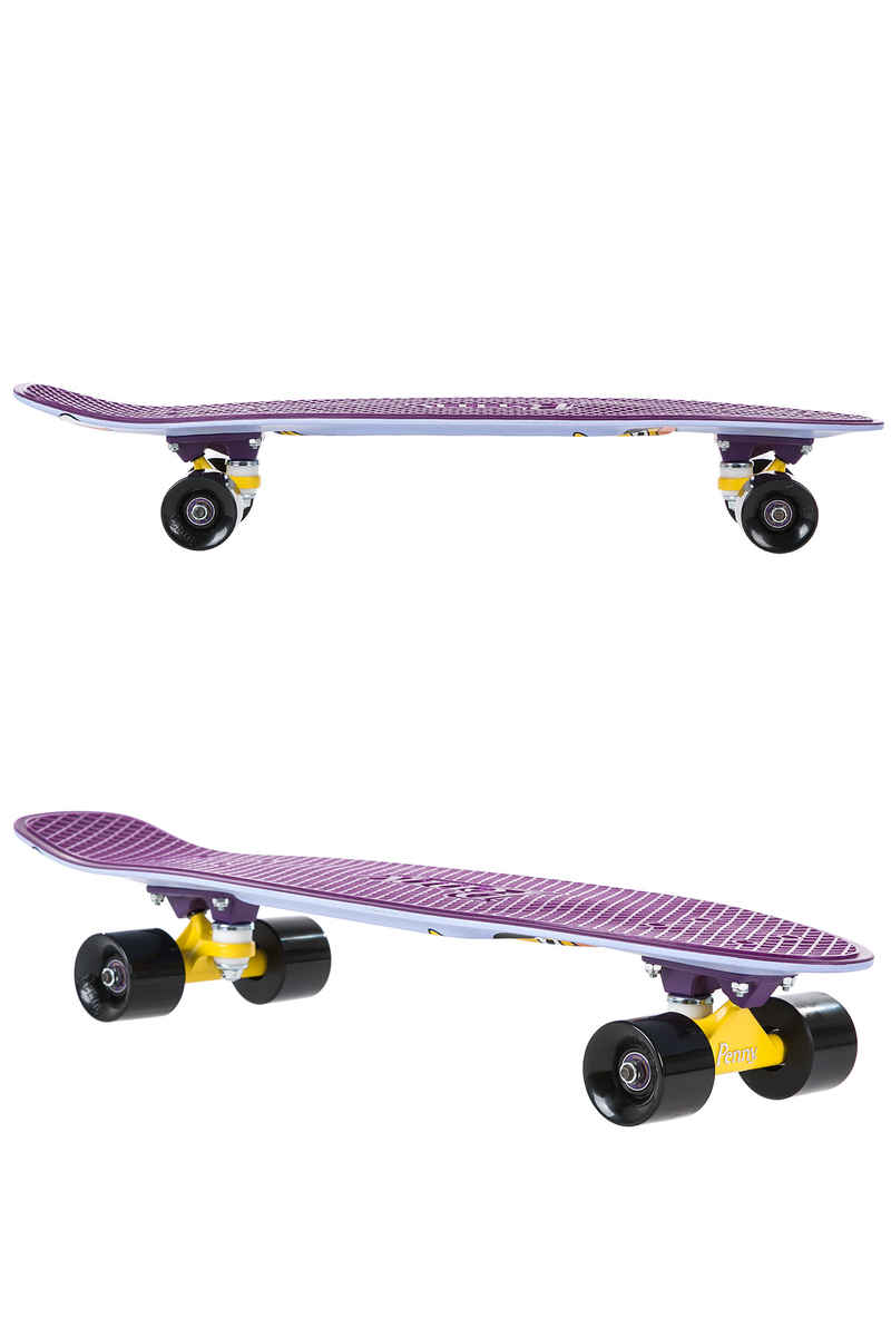 "Penny x The Simpsons Rock On Little Dudes! 27"" Cruiser (purple)"