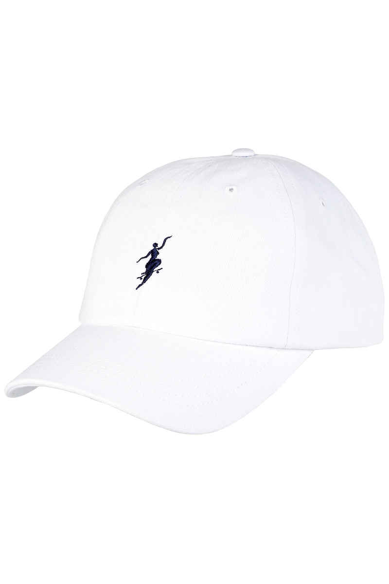 Polar Skateboards No Comply Unstructured Cap (white)