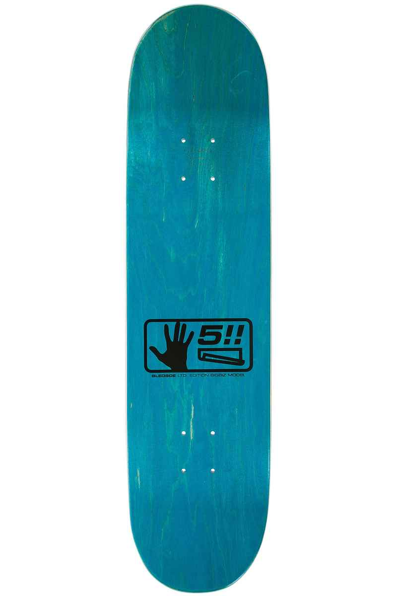 "Quasi Skateboards Bledsoe Bigbiz 8.125"" Tabla (blue)"