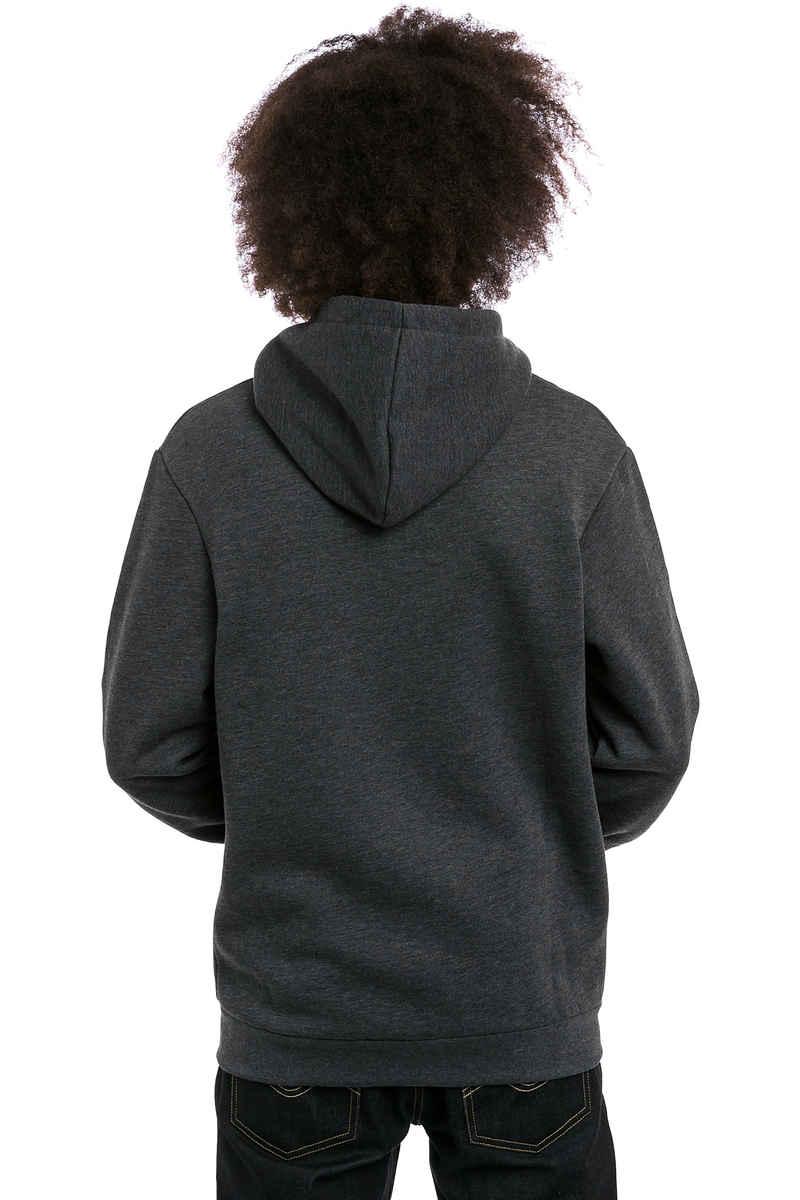 Iriedaily Mini Flag Zip-Sweatshirt avec capuchon (anthracite melange)