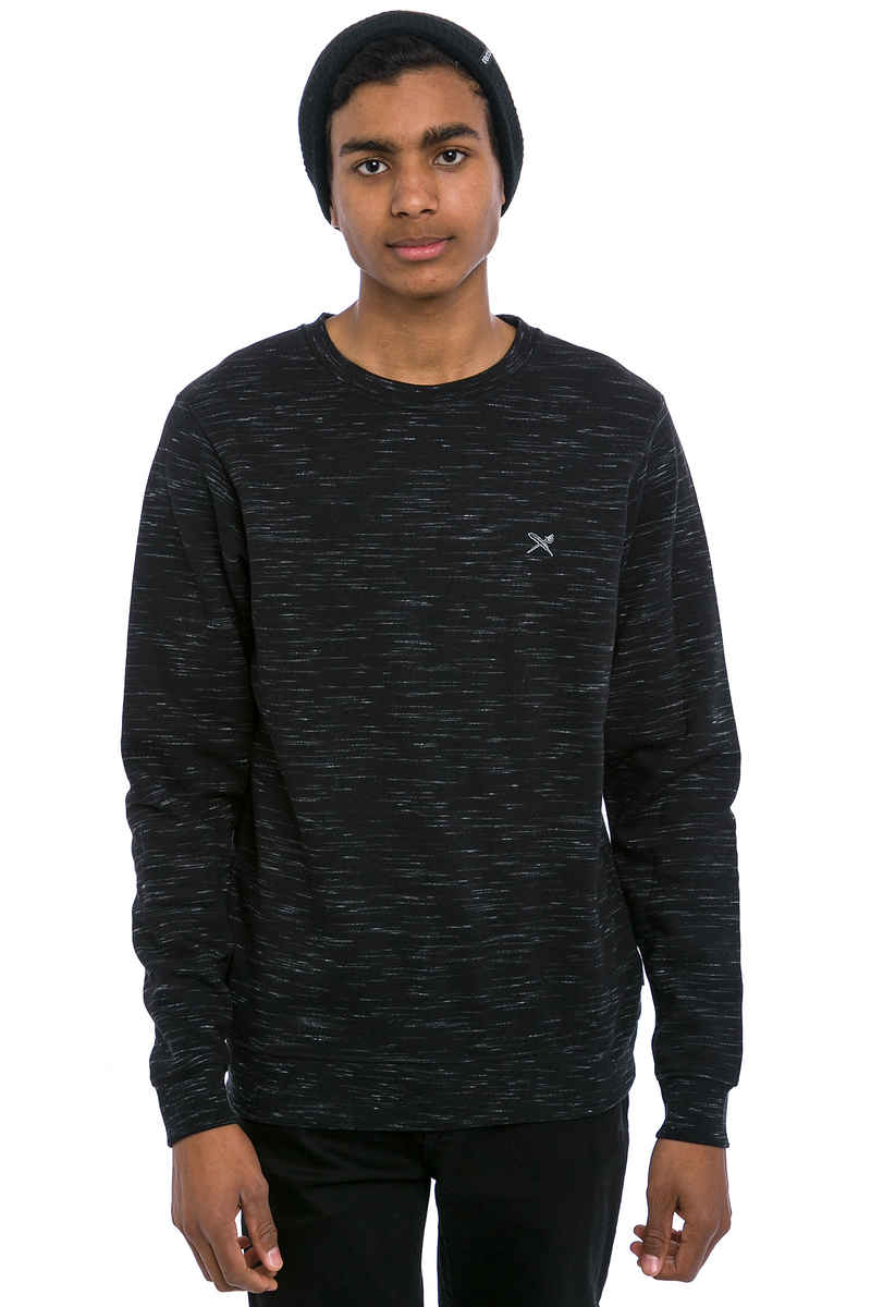 Iriedaily Injection Sweatshirt (black melange)