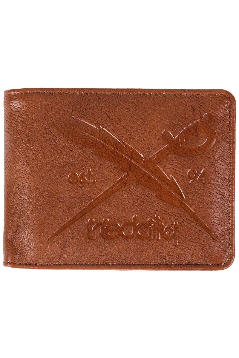 Iriedaily Flag 2 Punch Wallet (chocolate)