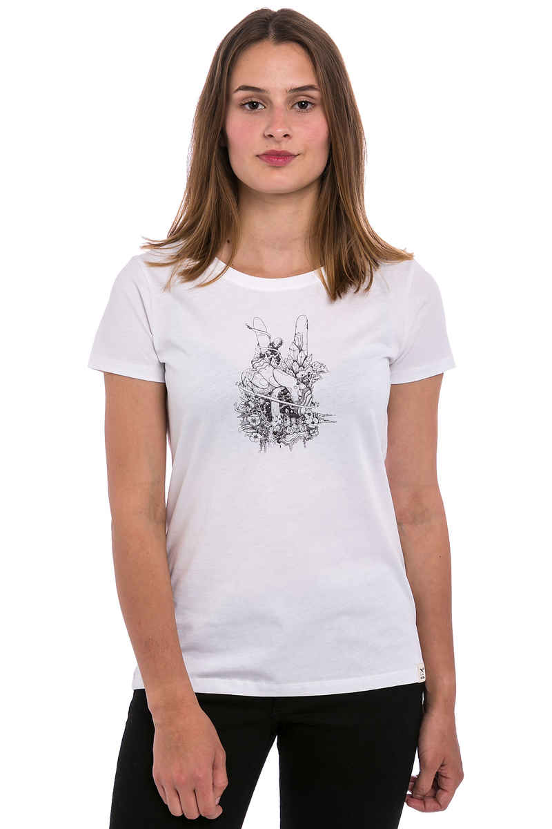 Iriedaily Easypeacy T-Shirt women (white)