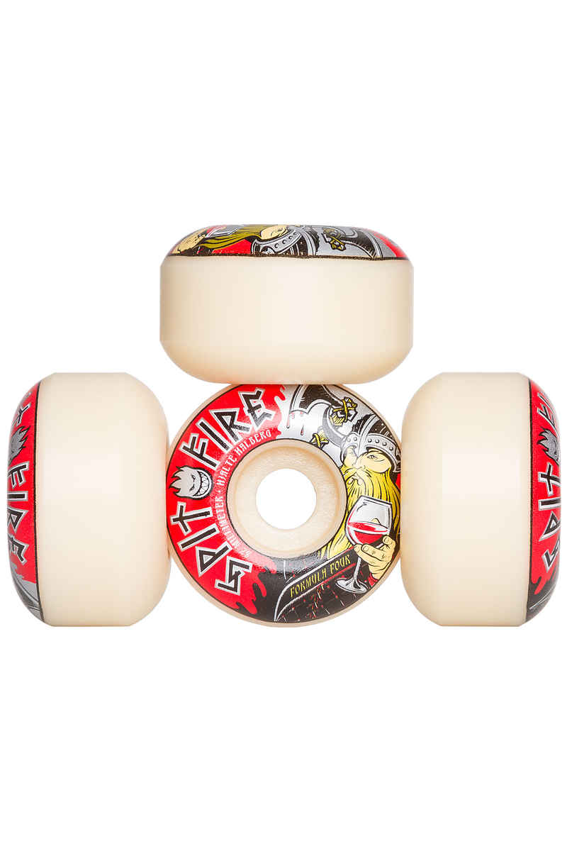Spitfire Hjalte Warlord Formula Four Classic Wheels 52mm 99A 4 Pack