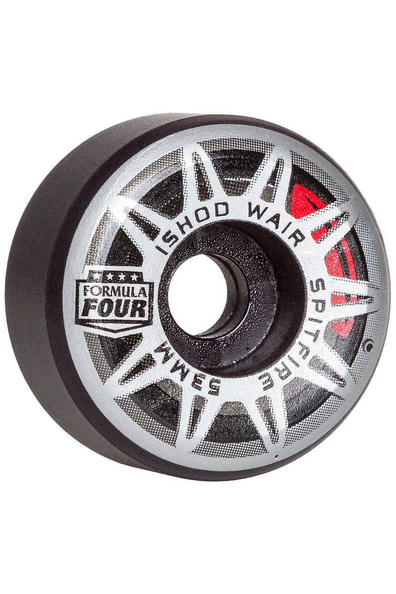 Spitfire Wair Burnouts Formula Four Conical Wheels (black) 53mm 99A 4 Pack