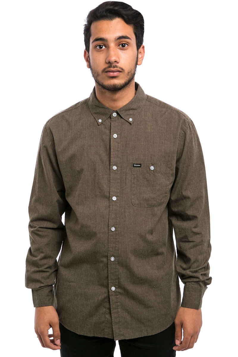 Brixton Central Chemise (heather moss)