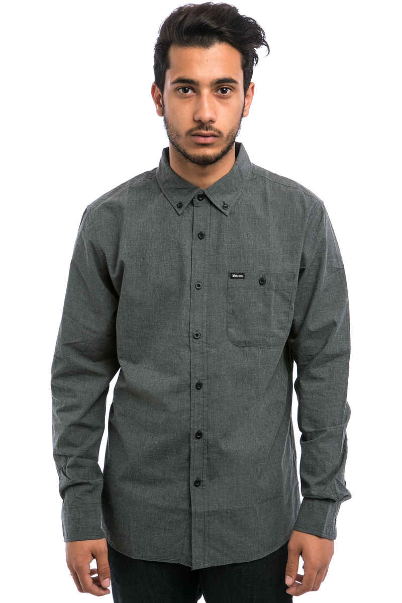 Brixton Central Shirt (heather black)