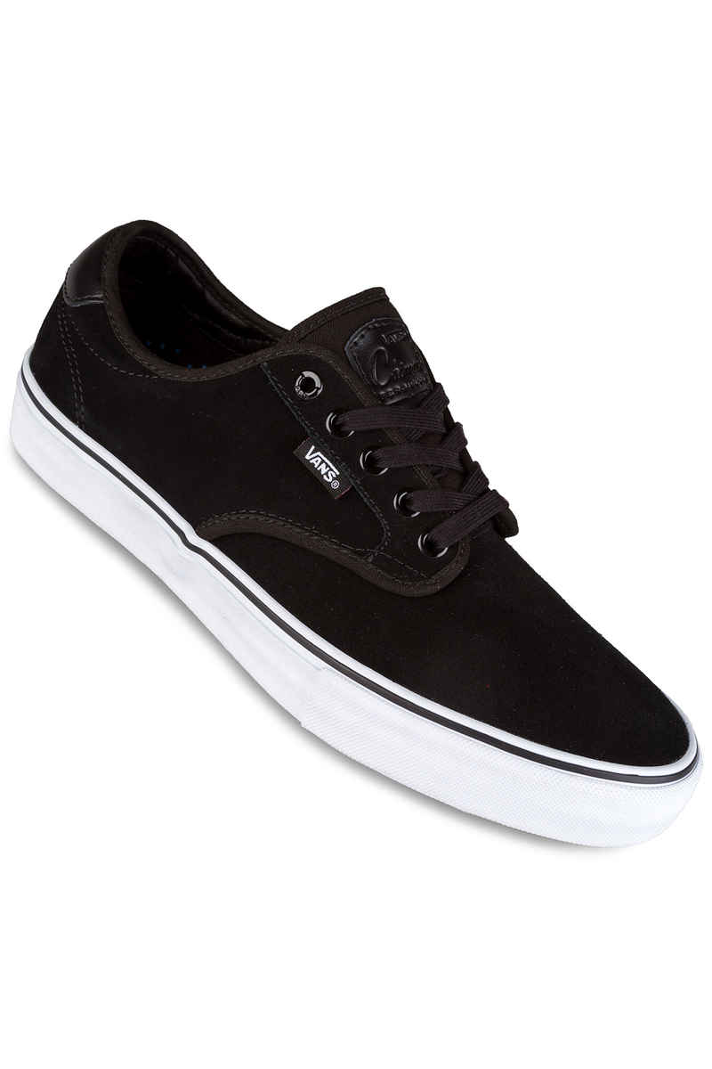 Vans Chima Ferguson Pro Suede Shoes (black white)